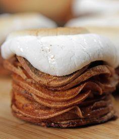 Sweet Potato Marshmallow Stacks