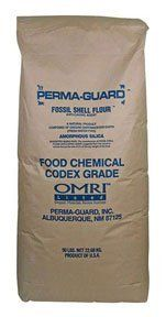 Diatomaceous Earth Food Grade 50 Lb by GreenSense. $25.89. This D.E. is the food grade material used for a wide variety of applications.. 50 lb. Bag. (Source Perma-guard). Comes in the original Codex certified layered paper Bags.. This fossilized skeletons of tiny aquatic organisms. When untreated, the razor sharp edges of D.E.scratch the exoskeletons of hard bodied insects, making them susceptible to dehydration and natural organisms in the soil. Application rate:...