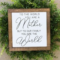 11 Amazing Mother's Day Gift Ideas – little blonde mom – Gift Ideas Mothers Day Goft, Mothers Day Signs, Signs For Mom, Mothers Day Decor, Mothers Day Gifts From Daughter, Mothers Day Crafts, Mother Gifts, Mothers Day Ideas, Mom Day