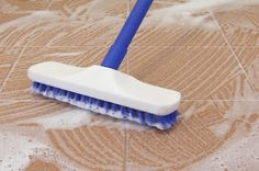 Tile Floor Care Do a Deep Cleaning Every Few M. is listed (or ranked) 3 on the list The Best Ways to Clean Tile Floors Ceramic Tile Cleaner, Cleaning Ceramic Tiles, Cleaning Tile Floors, Ceramic Floor Tiles, Tile Flooring, Floor Cleaner Tile, Kitchen Floor Cleaning, Best Floor Cleaner, Floor Cleaners