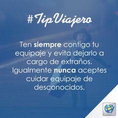 #TipViajero Viajeros Costamar más vale prevenir que lamentar