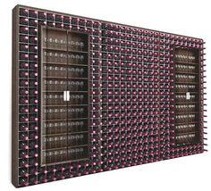 Casier à bouteilles métallique Esigo 2 Wall