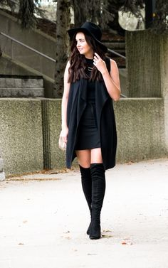 This look and tips for styling a monochromatic outfit are on www.aclassicambition.com \r\n\r\nMy OTK boots are currently 20% off and my skirt is 50% off.  #ShopStyle #ssCollective #MyShopStyle #ootd #mylook #fallfashion #currentlywearing #lookoftheday #wearitloveit #getthelook #todaysdetails