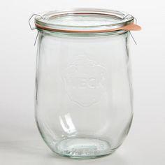 1 Liter Glass Weck Jar