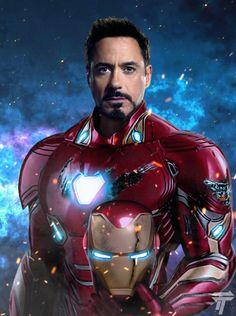 Robert Downey Jr.-Iron Man.......