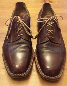 Authentic Sutor Mantellassi, Cordovan, Leather, Oxford Dress Shoes (Size 11) #SutorMantellassi #Oxfords