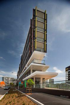 Housing by MHN Design Union has optical-illusion windows