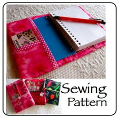 Download Busy Day Notebook Sewing Pattern | PegAnders | YouCanMakeThis.com
