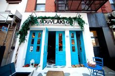 Eat at Souvlaki GR - Walk past this place all the time, need to try it