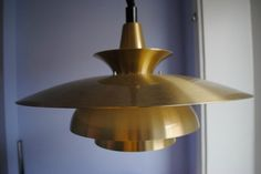 Large Danish Hanging Lamp Mid Century Eames Poulsen Era Thore Jeka Fog Morup | eBay