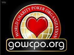 World Charity Poker Organization Logo Design by unicorn designs