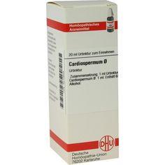 CARDIOSPERMUM Urtinktur:   Packungsinhalt: 20 ml Dilution PZN: 04210504 Hersteller: DHU-Arzneimittel GmbH & Co. KG Preis: 7,67 EUR inkl.…