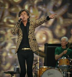 The Rolling Stones...I've heard they can still ROCK!  Oh man how I would've loved that concert with my family!!! but I'm so glad they went.......ROCK ON!!!!