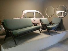 Unique vintage design lounge set 'De Ster Gelderland'  www.bestwelhip.nl