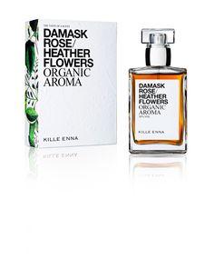 Damask Rose, Lavender Flowers, Perfume Bottles, Organic, Perfume Bottle