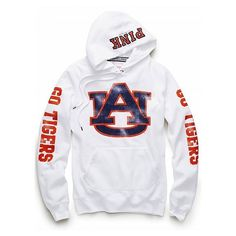 Victoria's Secret - Auburn University pullover hoodie ($53) found on Polyvore
