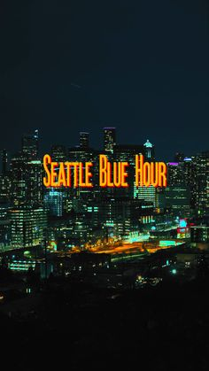 Seattle Blue Hour Timelapse