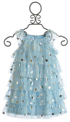 Biscotti Follow Your Heart Blue Girls Dress - Pinned for Kidfolio, the parenting mobile app that makes sharing a snap.