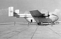Blackburn Beverley On Sharjah Air Strip In the 50s