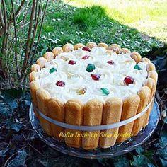 Tort fara coacere cu mascarpone, frisca si iaurt Tiramisu, Yams, Sweet, Ethnic Recipes, Youtube, Sweets, Mothers, Mascarpone, Pineapple
