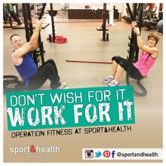 "Sport&Health members Leeanne & Mike    ""transformed their bodies into machines"" with Operation Bootcamp at Gainesville Sport&Health! ""We feel younger, fitter and our clothes fit better. We have more energy and are committed to the fit lifestyle!"""
