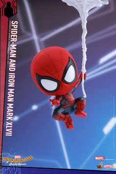 Hot Toys has revealed their Spider-Man: Homecoming Cosbaby figures, including the titular webslinger plus Iron Man and the Vulture! Marvel Memes, Marvel Avengers, Marvel Comics, Baby Marvel, Spiderman Art, Amazing Spiderman, Chibi Characters, Marvel Wallpaper, Cartoon Drawings