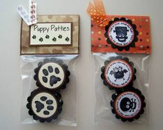 Peppermint Patty Wheels by kaitysmom - Cards and Paper Crafts at Splitcoaststampers Treat Box, Treat Holder, Pet Craft, No Kill Animal Shelter, Wooly Hats, Fund Raiser, Peppermint Patties, Jar Gifts, Animal Crafts