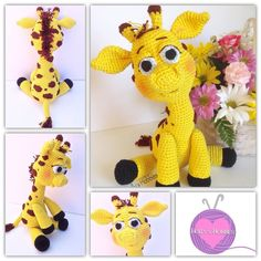hollyshobbiescrafts Finally finished sewing on the last of this cutie-pa-tootie's spots! Hoping to release this pattern in the next few weeks! Stay tuned to our Facebook page for release details!  #crochetpattern #customorder #crochet #crochetaddict #yarn #amigurumi #amigurumis #giraffe #toys #doll #etsy #zoo #zooanimals #cute #instalike #instagood #etsy #etsyshop #etsyseller #handmade #handmadetoy #madeincanada #toronto #ilovemyjob #crochetersofinstagram #instacrochet