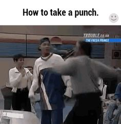 How to take a punch, fresh prince of bel-air