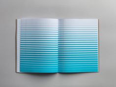 The New Inspiration Pad Turns the Conventional Blue Lined Notebook Upside Down creativity