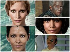 CLOUD ATLAS Halle Berry  Halle Berry is easily recognized when she plays reporter Luisa Rey, and even as the futuristic Meronym. However, she's hard to spot as the German-Jewish wife of a composer in the early 1900s and vanishes completely as an Asian man. All character's played: Native Woman / Jocasta Ayrs / Luisa Rey / Indian Party Guest / Ovid / Meronym.