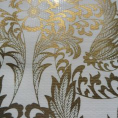 Mexican Oilcloth in Gold LaceWidth:120cmIf you require more than 6 metres please order two lengths.  Oilcloth will be sent in one continous piece up to a maximum length of 10metres.Full rolls available (10.9metres) please email for details.