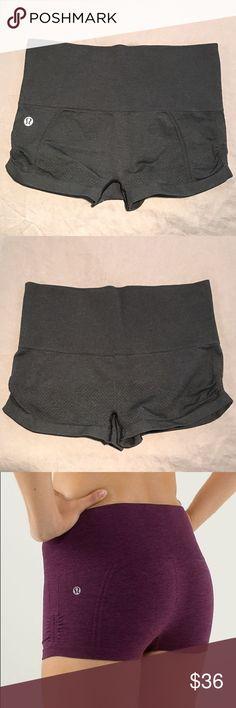 Selling this Lululemon Ebb and Flow Hot Shorts on Poshmark! My username is: sami_moore_. #shopmycloset #poshmark #fashion #shopping #style #forsale #lululemon athletica #Pants