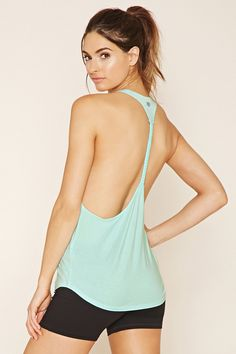 Active Braided T-Back Tank