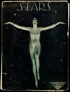 STARS Song - 1921 - Sheet Music - Lyrics by James Lamont Haven Gillespie, music by John Alden - Van Alstyne & Curtis Music Publishing Co.