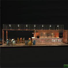 Container bar                                                                                                                                                     Mais