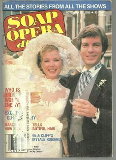 Soap Opera Digest November 25, 1980 All My Children Cliff and Nina's Wedding on the Cover
