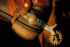 Cowboy Photography | Cowboy Boot and Spur - Photo, Photograph   ...........click here to find out more     http://googydog.com