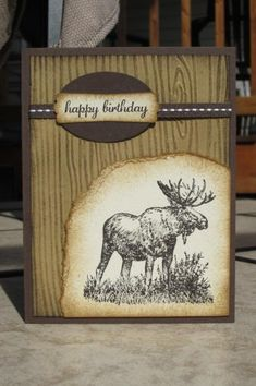 DTGD14SweetMissDaisy - Moose by AnnetteMac - Cards and Paper Crafts at Splitcoaststampers