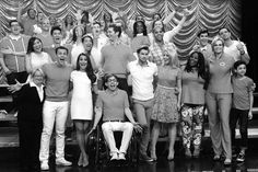 Cory Monteith To Be Remembered In Glee Final Episode - Lea Michele Shares Glee Finale Moments - Seventeen Just A City Boy, Glee Cory Monteith, Final Goodbye, Glee Club, Chris Colfer, Dianna Agron, Muscle Tank Tops, Lea Michele, Darren Criss