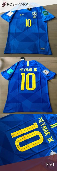 9d762e96296 Brasil Brazil Neymar Jr.  10 Soccer Jersey Nike Brasil Brazil Neymar Jr.