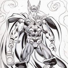 Really epic Thor commission by Claudio Castellini ... #comics #comic #fumetti #fumetto #bandedessinée #bandedessinee #art #arte #commissions #commission #sketches #sketch #originalart #originalcomicart #tavoleoriginali #superheroes #superhero #marvelcomics #marvel #thor #donaldblake #chrishemsworth #claudiocastellini #asgard #avengers