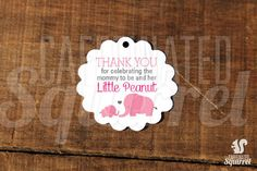 by CaffeinatedSquirrel on Etsy Baby Shower Tags, Baby Showers, Purse Game, Whats In Your Purse, Diaper Raffle, Card Stock, Elephant, Thankful, This Or That Questions