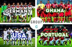 "GRUPO ""G"" - FIFA World Cup Brazil 2014 Draw - http://www.1502983.talkfusion.com/"