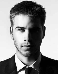 Liam Hemsworth. Well done nature. Well done.