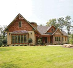 Oak Abbey House Plan