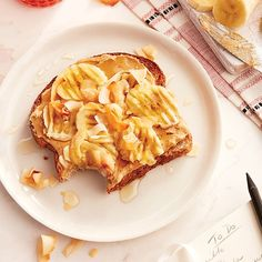 Forget avocado with toast. With 13 grams of protein and 8 grams of fibre, this Banana-coconut toast is the smartest slice around.