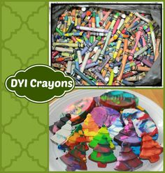 DYI Crayon Project