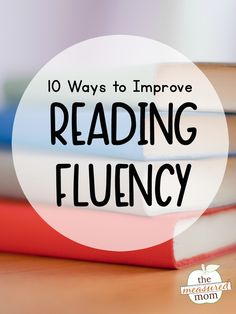 Teach Your Child to Read - Learn ten ways to improve reading fluency, and grab our free printable cheat sheet! - Give Your Child a Head Start, and.Pave the Way for a Bright, Successful Future. Reading Fluency Activities, Fluency Practice, Reading Resources, Reading Strategies, Improve Reading Comprehension, Reading Lessons, Reading Intervention Classroom, Reading Games, Comprehension Strategies