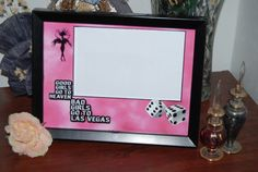 8x6  Girls in Vegas Picture Frame by SapphireCustomPhotos on Etsy, $14.00